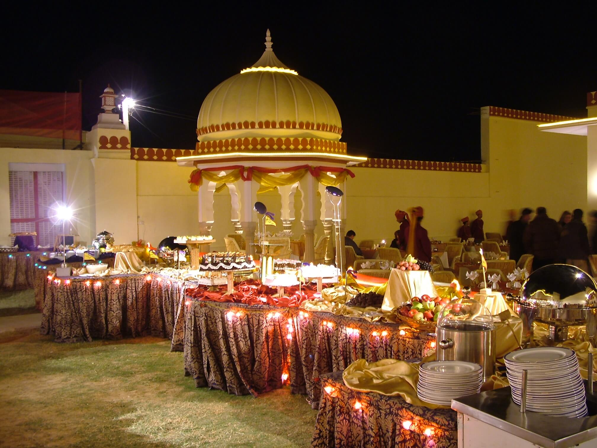 Gala%20Dinner%20at%20Sajjan%20Bagh%20(4) - Royal Wedding Rajasthan